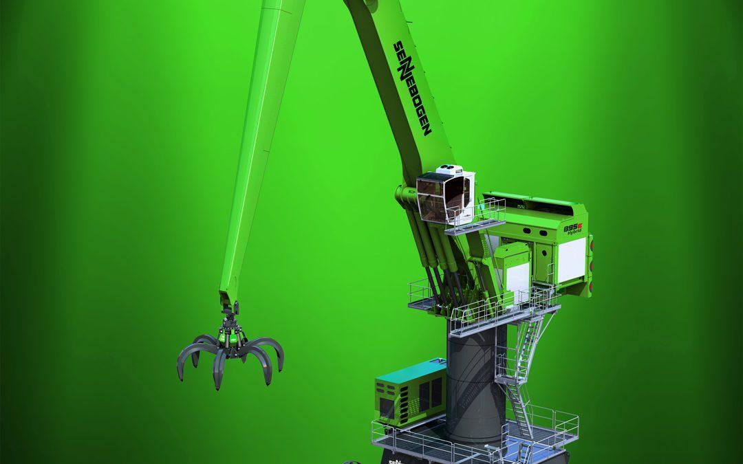 Sennebogen Construye el mayor manipulador del mundo – 895E