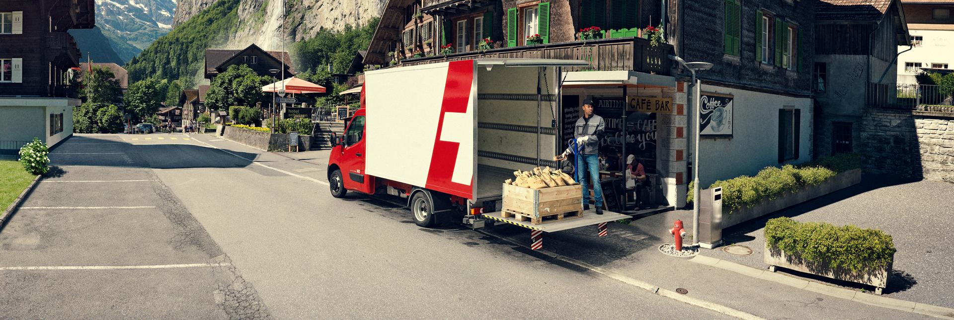 trampilla elevadora para camiones