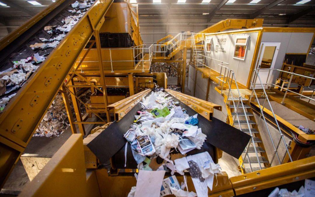 Los beneficios del reciclaje de residuos industriales
