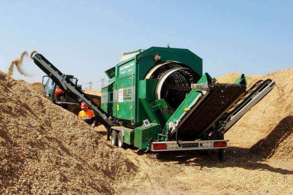 las mejores maquinas industriales para el reciclaje de madera usada