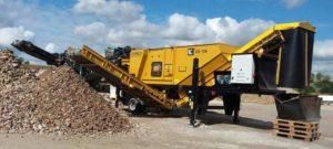 Planta de tratamiento de residuos- Separador de densidad