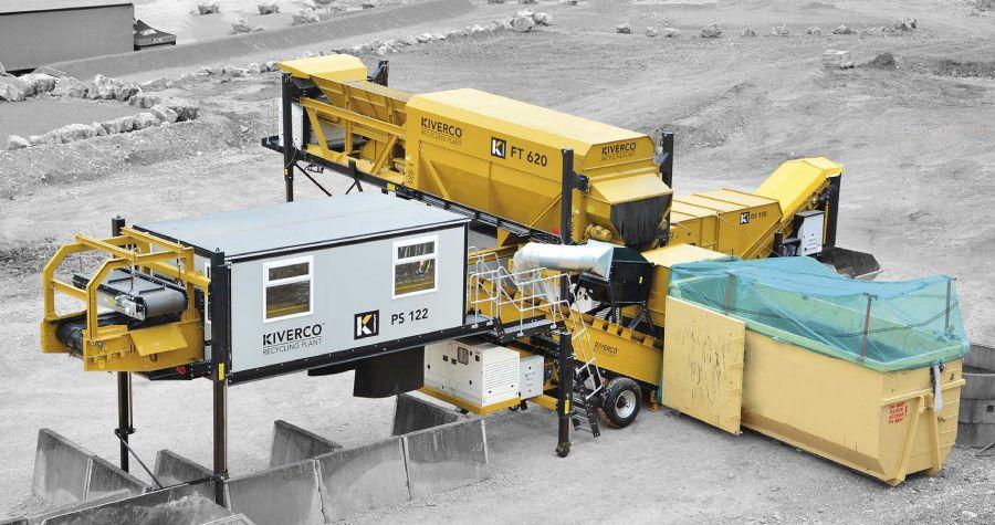 Maquinaria para separar residuos compostables