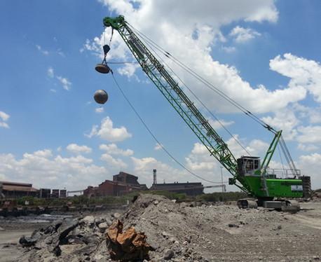Separación de residuos industriales de construcción y demolición