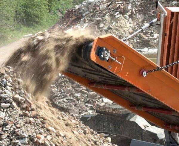 separar y reducir materiales de RDC