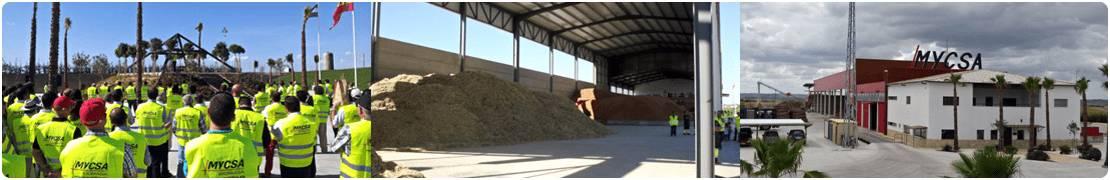 Inaugyración de la planta de biomasa