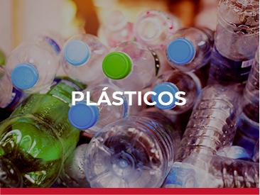 Maquinaria para recogida de plásticos