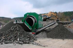 Maquinaria de criba para minería