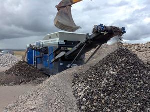 Maquinaria para tratamiento de residuos de mineria