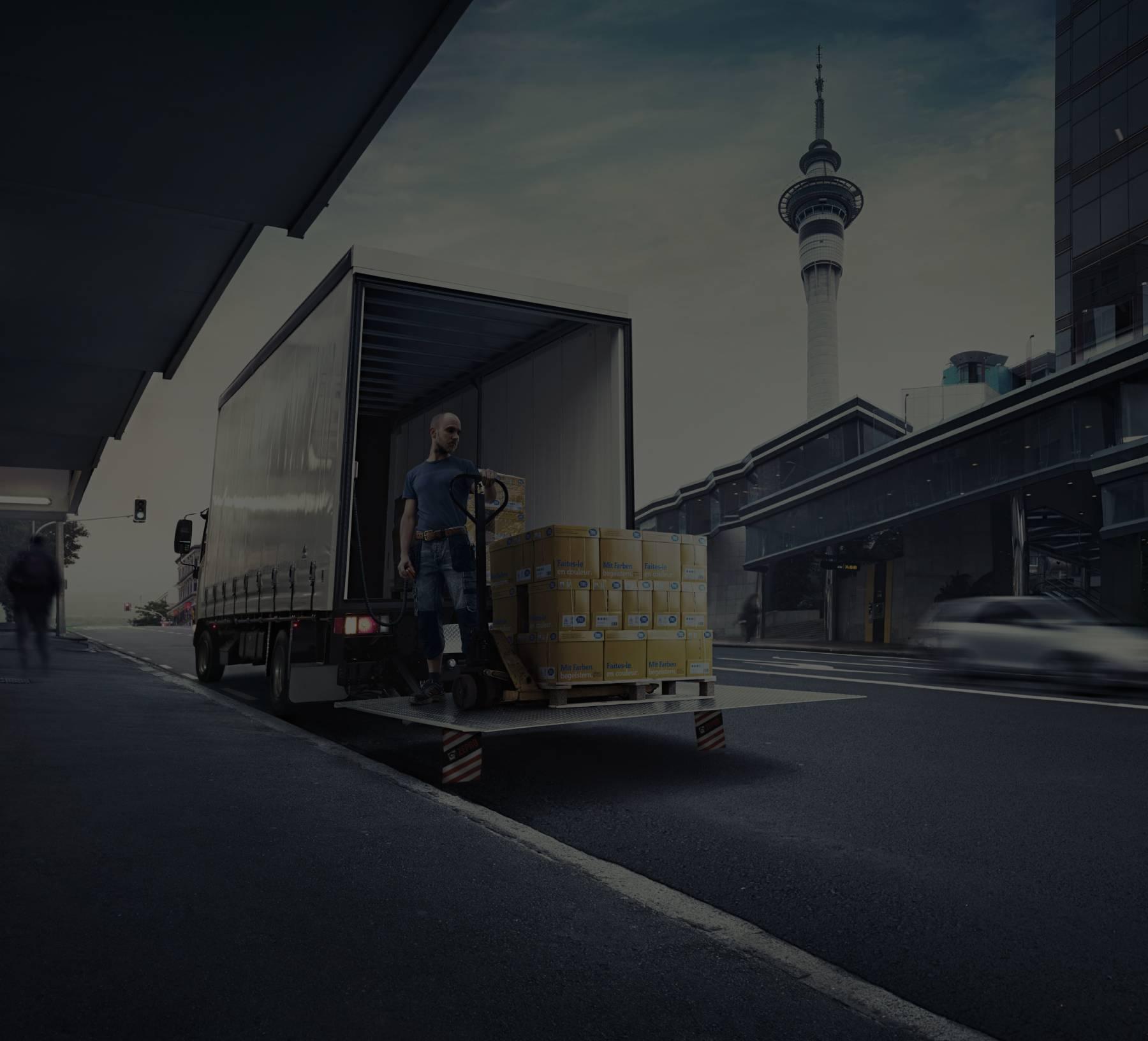Trasnporte/logística maquinaria