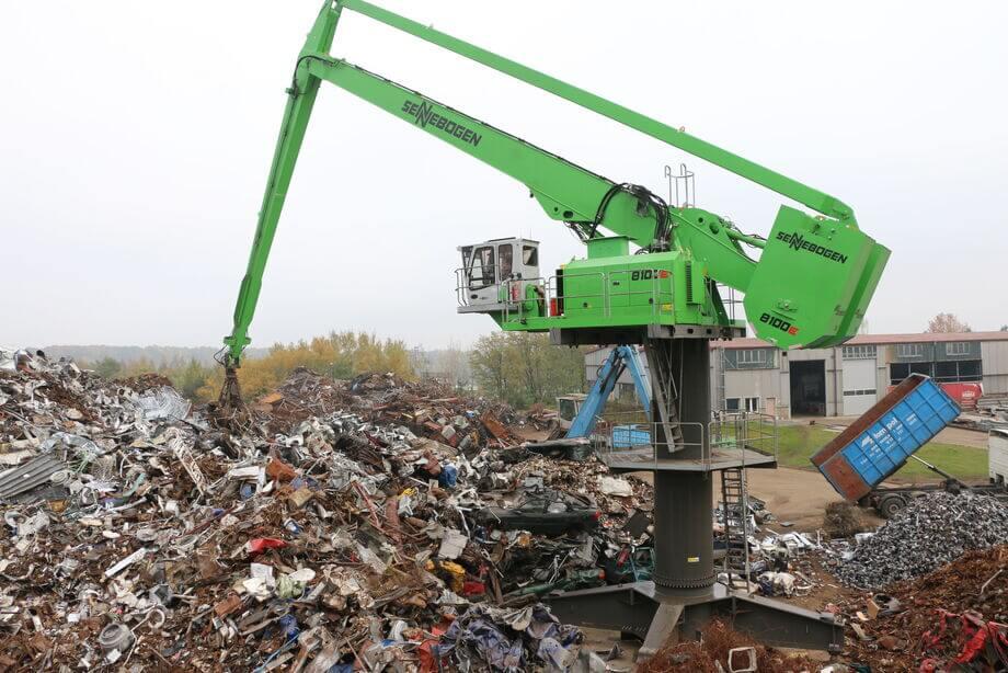 reciclar chatarra nivel industrial