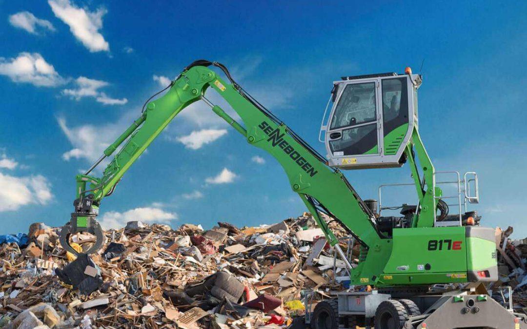 Encuentra las mejores máquinas de manipulación de residuos en MYCSA