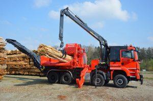 Triturador de madera industrial