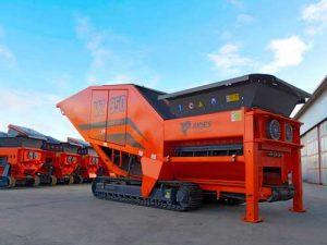 Triturador de residuos industriales